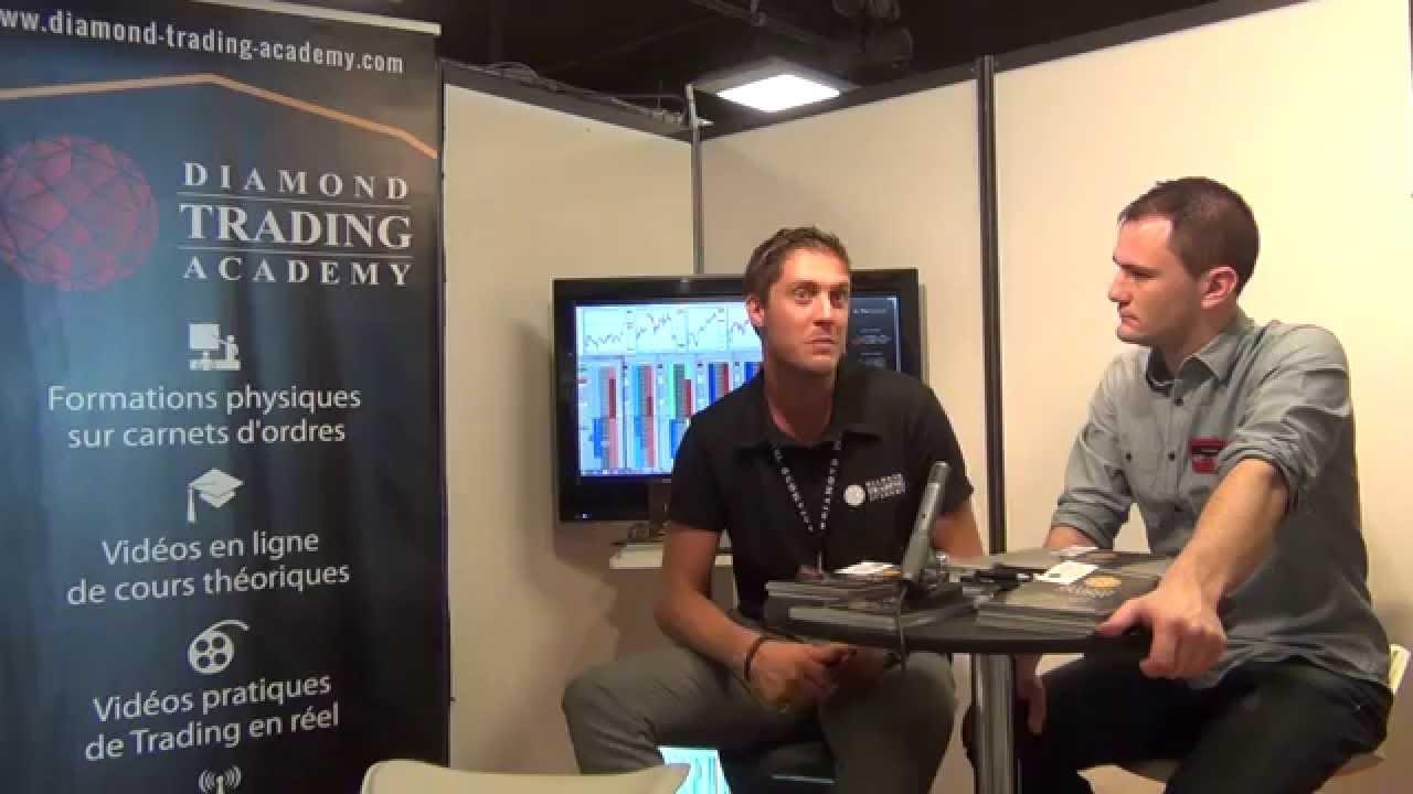 Interview de Marc-Antoine De Villiers au Salon du Trading 2014
