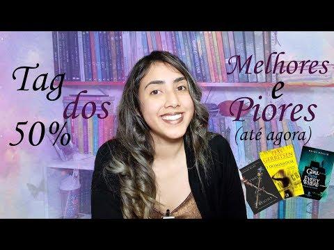 ? TAG DOS 50%| OS MELHORES E PIORES DE 2019 | Leticia Ferfer | Livro Livro Meu