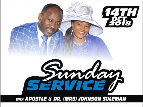 SUNDAY SERVICE LIVE With Apostle Johnson Suleman 14th October, 2018