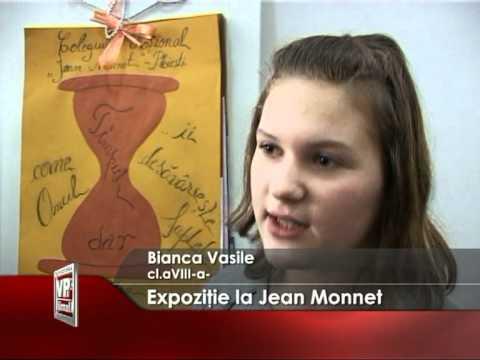Expozitie la Jean Monnet