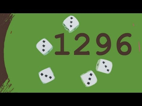 1,296 and Yahtzee – Numberphile