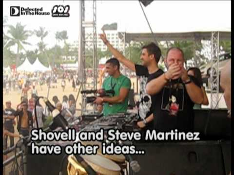 House Music :Defected Records - Shovell the Drum Warrior and Steve Martinez at Zouk Out '09