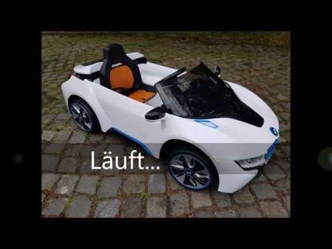 Elektro Kinderauto BMW i8 im Test - Teil 1 / Montage