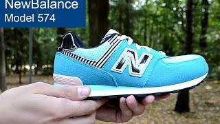 New Balance model 574 - фото