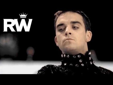 Robbie Williams | 'She's The One' | Robbie Shows Off On The Ice-rink