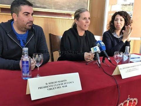 Presentación VI Open Internacional de Petanca (Isla Cristina 2018)