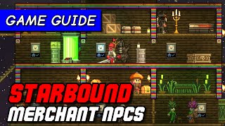 See how to attract merchant NPCs to your Starbound colony to set up shop, sell you stuff AND pay you rent! Subscribe to...