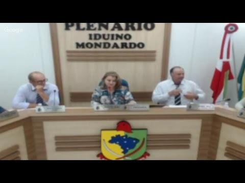 SESSÃO ORDINÁRIA DIA 04 DE DEZEMBRO DE 2017