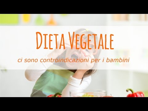 dieta vegetale: ci sono controindicazioni per i bambini?