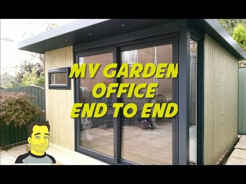 , title : 'My Garden office Garden room  Summer house Build end to end ManCave or SheShed'