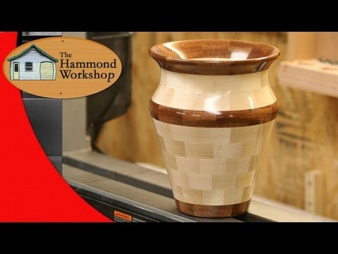 Woodturning A Segmented Vase