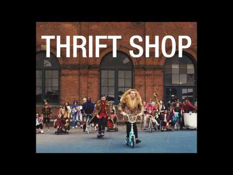 Macklemore - Thrift Shop CLEAN [Download, HQ]