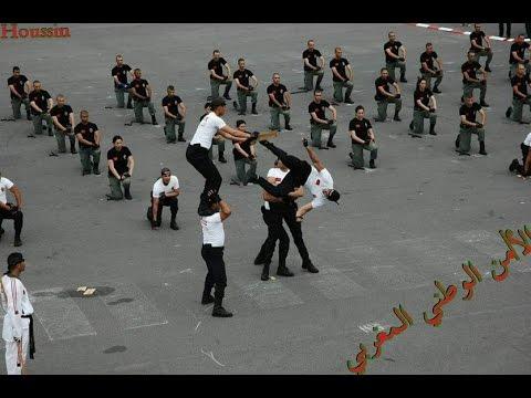شرطي مغربي سيبهرك في أقوى استعراض للشرطة الوطنية