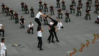 أقوى استعراض للشرطة الوطنية المغربية