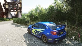 Subaru WRX STI 2015 - Forza Horizon 4 | Logitech g29 gameplay