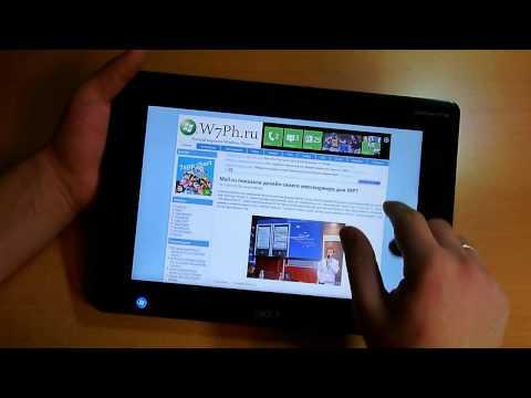 Windows 8 на планшете Acer W500