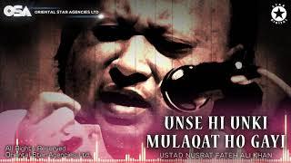 Video Unse Hi Unki Mulaqat Ho Gayi | Nusrat Fateh Ali Khan | complete full version | OSA Worldwide MP3, 3GP, MP4, WEBM, AVI, FLV Desember 2018