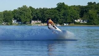 6. Stand Up Jet Ski Tricks