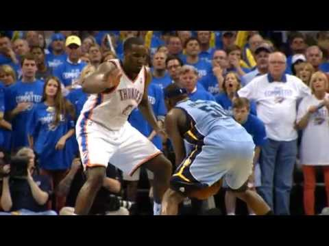 Thunder - Check out what our phantom cameras caught as the Memphis Grizzlies took one on the road against the Thunder in OT. Visit nba.com/video for more highlights. A...