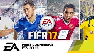 FIFA 17 - E3 2016 Official Gameplay Trailer - E3 2016 EA Press Conference by GameSpot
