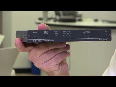 NEW Kramer HDBaseT Distributors: VM 2DT VM 3DT VM 4DT