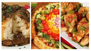 3 Clever Cauliflower Recipes | Dinner Made Easy by The Domestic Geek