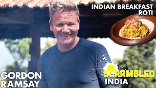 Gordon Ramsay Cooks The Spiciest Scrambled Eggs in India | Scrambled by Gordon Ramsay