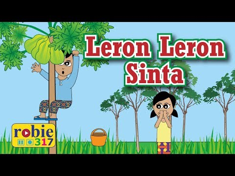 Leron Leron Sinta Animated (Filipino / Tagalog Folk Song) | Awiting Pambata (видео)