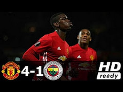 Manchester United vs Fenerbahce 4-1 - All Goals & Extended Highlights - Europa League 20/10/2016 HD
