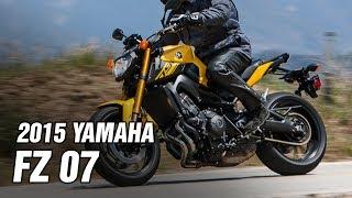 8. 2015 Yamaha FZ 07 Spec