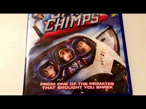 Space Chimps * Animated Cartoon * DVD Movie Collection