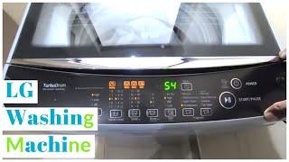 LG 7.0 kg Fully-Automatic Top Loading Washing Machine(T8081NEDLJ)