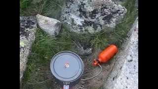 Туристический набор посуды на две персоны Fire-Maple Feast 4