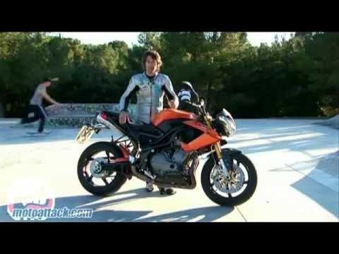 Prueba MotoRattack Benelli TNT 899
