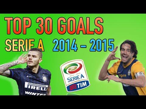 i migliori 30 goal della serie a 2014-2015