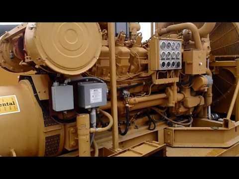 CATERPILLAR STATIONARY - NATURAL GAS G3512 equipment video fiwOTuTmDhY