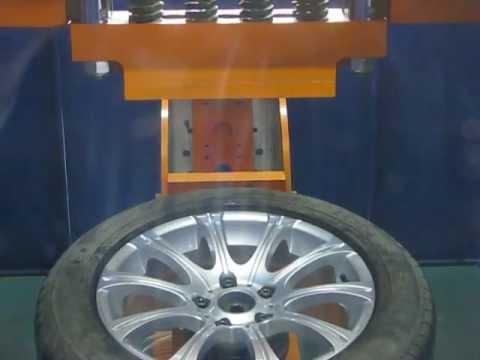 Прочность колёсных дисков WSP Italy W648 ZURIGO на удар обода (БМВ)