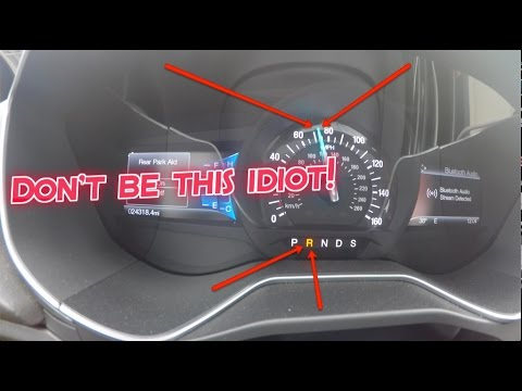 Watch A Guy Put His Car In Reverse At 110KM/H