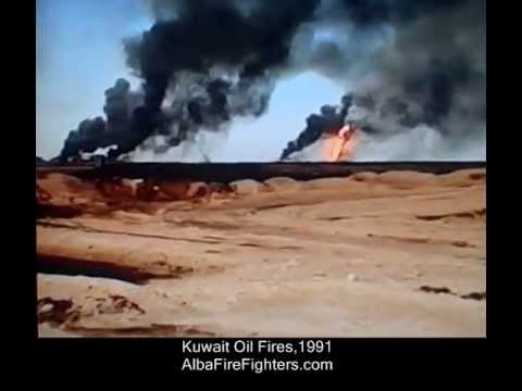 Kuwait Oil Fires (1991) AlbaFireFighters (AFF) Video 1
