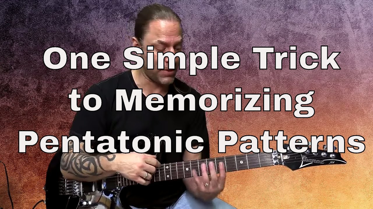 1 Weird Trick to Memorizing Pentatonic Patterns | Steve Stine | Guitar Zoom