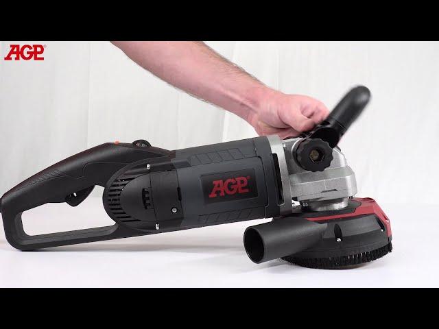 AGP G125 Concrete Grinder 125mm - Introduction