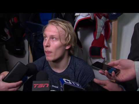 Laine: Think we're playing against Toronto, not too sure (видео)
