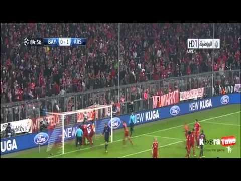 Bayern München VS Arsenal 2 - 0 All Goals