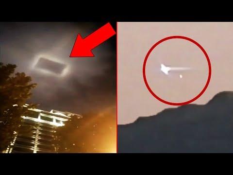 5 misteriosi oggetti volanti durante un eclissi - inspiegabile!