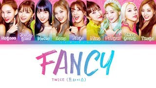 Download Video TWICE - FANCY (트와이스 - FANCY) [Color Coded Lyrics/Han/Rom/Eng/가사] MP3 3GP MP4