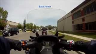 2. 2014 Suzuki Burgman 650 ABS Test Ride