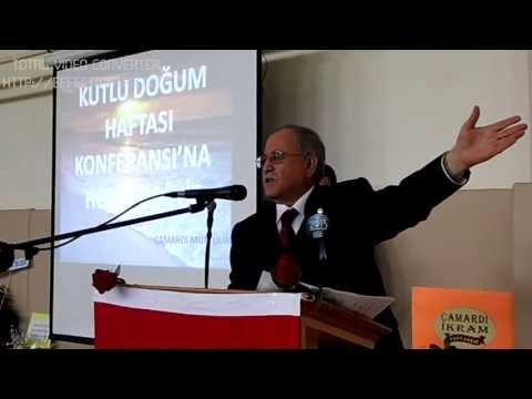 Kutlu Doğum Konferansı Mehmet Zeki DUMAN 2