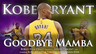 Kobe Bryant - Goodbye Mamba by Joseph Vincent