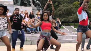 Video A'motion Dance  Flash Mob 2015 - Dancehall - Afrobeat - MP3, 3GP, MP4, WEBM, AVI, FLV Agustus 2018