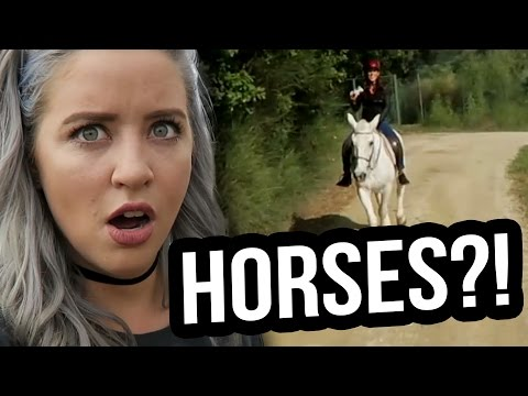 HORSEBACK RIDING IN ITALY?! PART 3 (Lunchy Break)